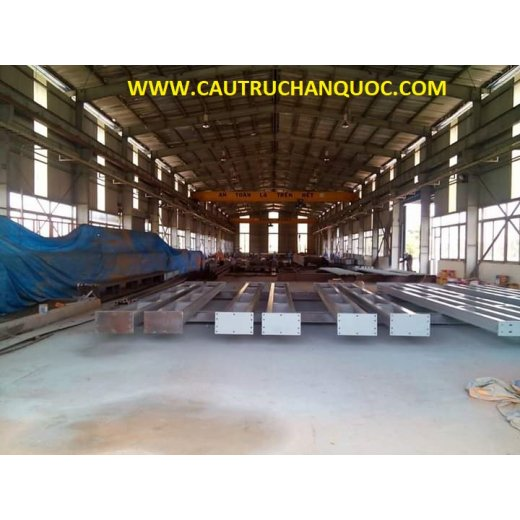 Cầu trục 3 tấn hàn quốc 1 dầm đơn khẩu độ nhà xưởng 20m