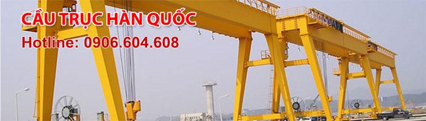 Cầu trục Hàn Quốc