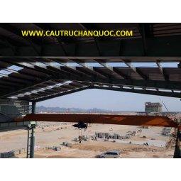 Cầu trục 10 tấn hàn quốc 1 dầm đơn khẩu độ nhà xưởng 15m