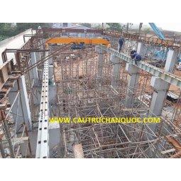 Cầu trục 10 tấn hàn quốc 1 dầm đơn khẩu độ nhà xưởng 10m