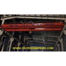 Cầu trục 20 tấn hàn quốc 2 dầm đôi khẩu độ nhà xưởng 15m