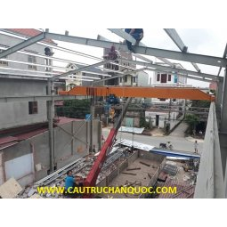 Cầu trục 2 tấn hàn quốc 1 dầm đơn khẩu độ nhà xưởng 20m