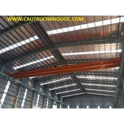 Cầu trục 3 tấn hàn quốc 2 dầm đôi khẩu độ nhà xưởng 25m