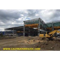 Cầu trục 50 tấn Hàn Quốc lắp nhà máy cán thép sản xuất thép chế độ làm việc nặng