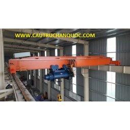 Cầu trục 7.5 tấn hàn quốc 1 dầm đơn khẩu độ nhà xưởng 10m