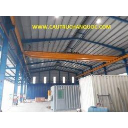 Cầu trục 7.5 tấn hàn quốc 2 dầm đôi khẩu độ nhà xưởng 20m