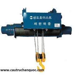 Palang cáp điện sungdo 3 tấn 12m dầm đôi