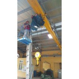 Palang cáp điện hàn quốc hiệu KH 3 tấn 1 dầm đơn